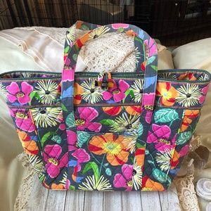 Vera Bradley Jazzy Blooms Laptop Tote bag